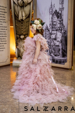 """Детска Луксозна рокля """"РОЗОВА МЕЧТА"""" 3"""
