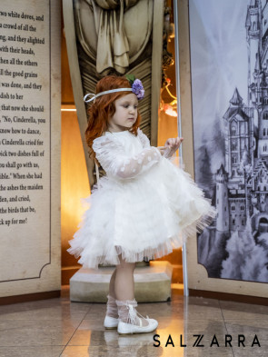 """Детска рокля """"БЯЛА ПЕРЛА"""" 5"""