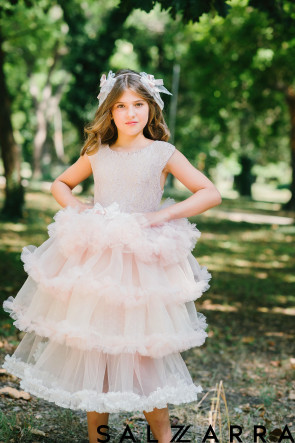 "Луксозна детска рокля ""ЛОЛИТА"" 1"