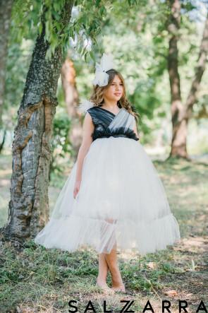 """Луксозна детска рокля """"ДАКОТА"""" 8"""