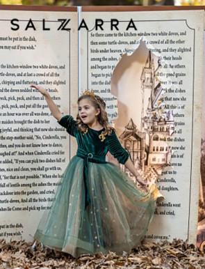 "Детска рокля ""ЗВАЗДНА МАГИЯ"" 8"