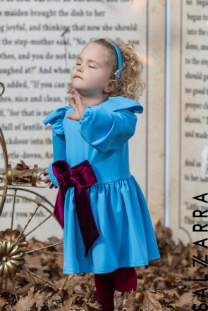 "Детска рокля ""VELVET RIBBON""1"