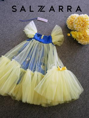 """Детска рокля """"ЛЕТНИ ЦВЕТОВЕ"""" 1"""