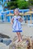 """Детска рокля """"Палавница в синьо"""" 2"""
