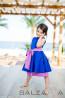 "Детска рокля ""Синя тишина"" - 1"