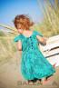 """Детска рокля """"Приказни цветя за Вики"""" - 3"""