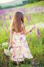 """Детска рокля """"Градината на Ида"""" - 4"""