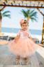 """Детска рокля """"Оранжево утро"""" - 2"""