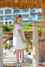 """Детска рокля """"Сребрина"""" 1"""