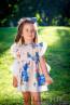 """Детска рокля с гащички """"Вълшебен букет за Даяна"""" - 1"""