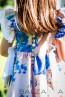 """Детска рокля с гащички """"Вълшебен букет за Даяна"""" - 2"""