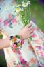 """Детска рокля """"Градината на Ида"""" - 2"""