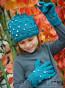 Детски ръкавици в зелено - 2
