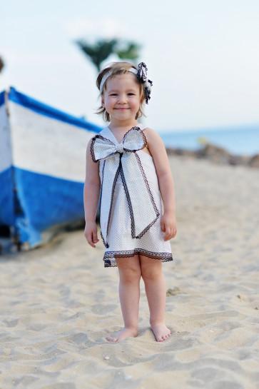 """Детска рокля """"Палавница B&W"""""""