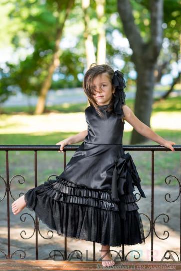 """Детска рокля """"Нощта на принцеса Лиана"""" - 1"""
