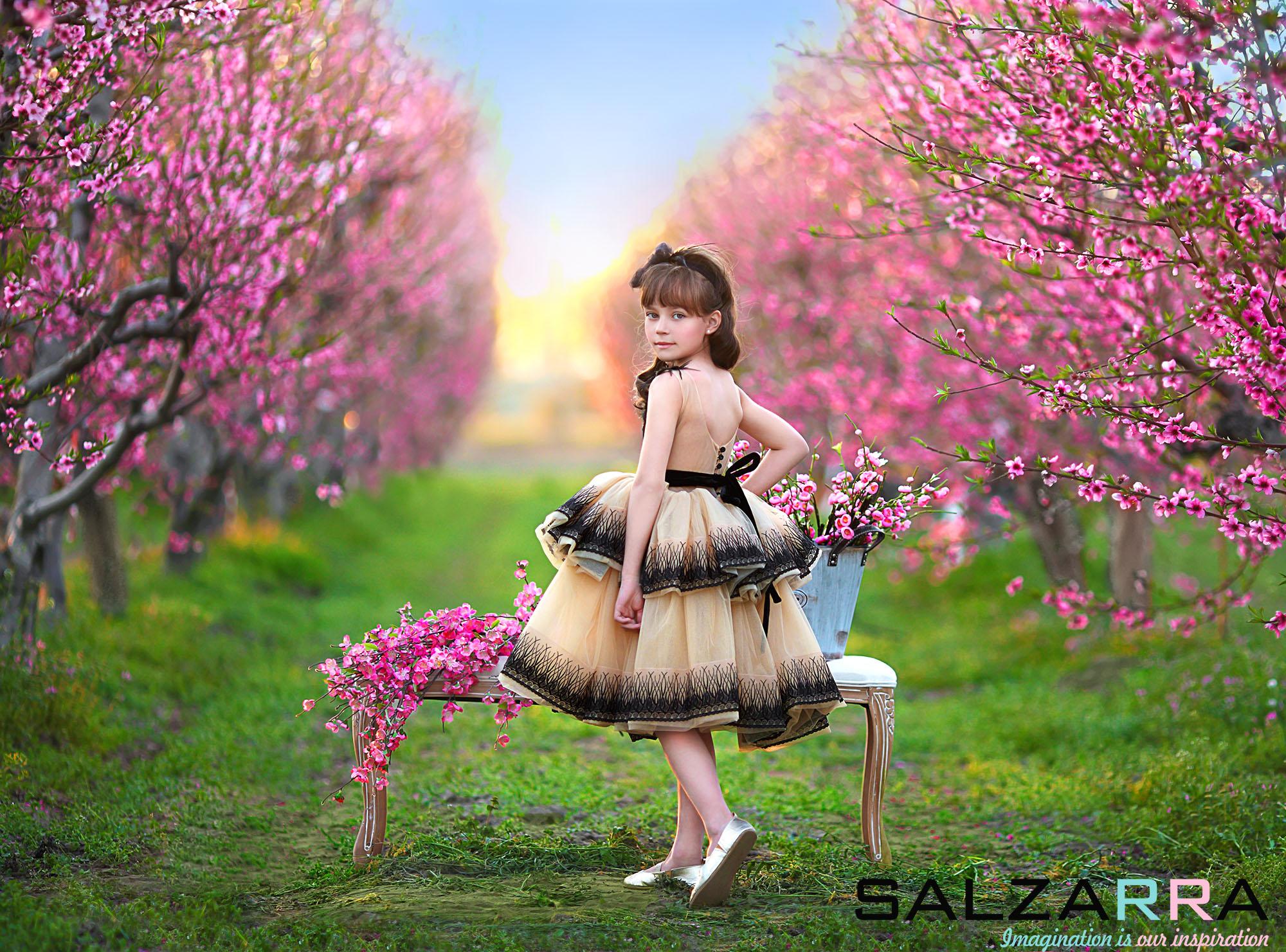 Детска рокля Salzarra от колекция Пролет-Лято 2017